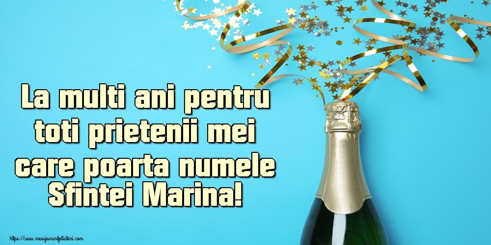Felicitari de Sfanta Marina - La multi ani pentru toti prietenii mei care poarta numele Sfintei Marina!