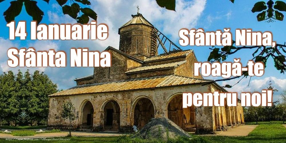 Sfanta Nina 14 Ianuarie - Sfânta Nina