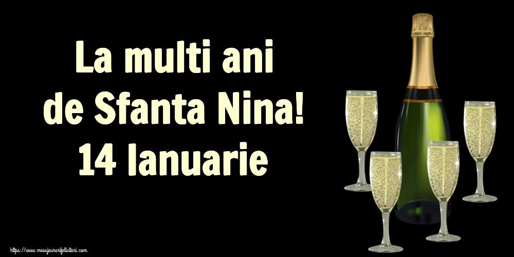 Felicitari de Sfanta Nina - La multi ani de Sfanta Nina! 14 Ianuarie
