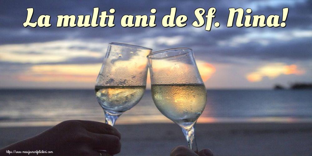 Felicitari de Sfanta Nina - La multi ani de Sf. Nina!