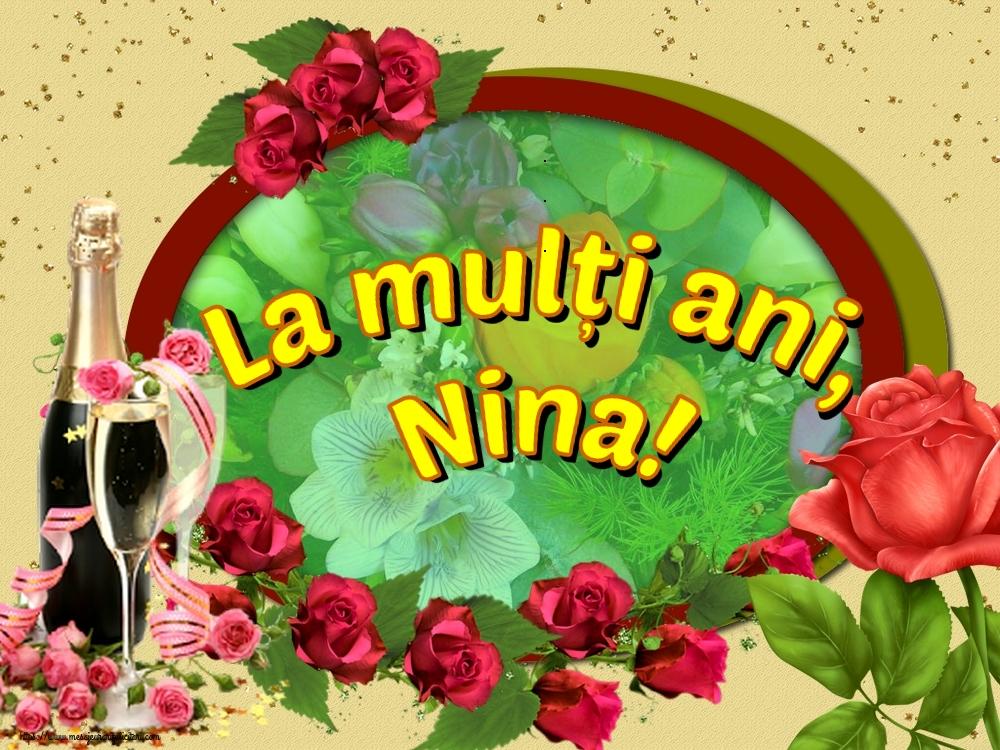 Felicitari de Sfanta Nina - La mulți ani, Nina!
