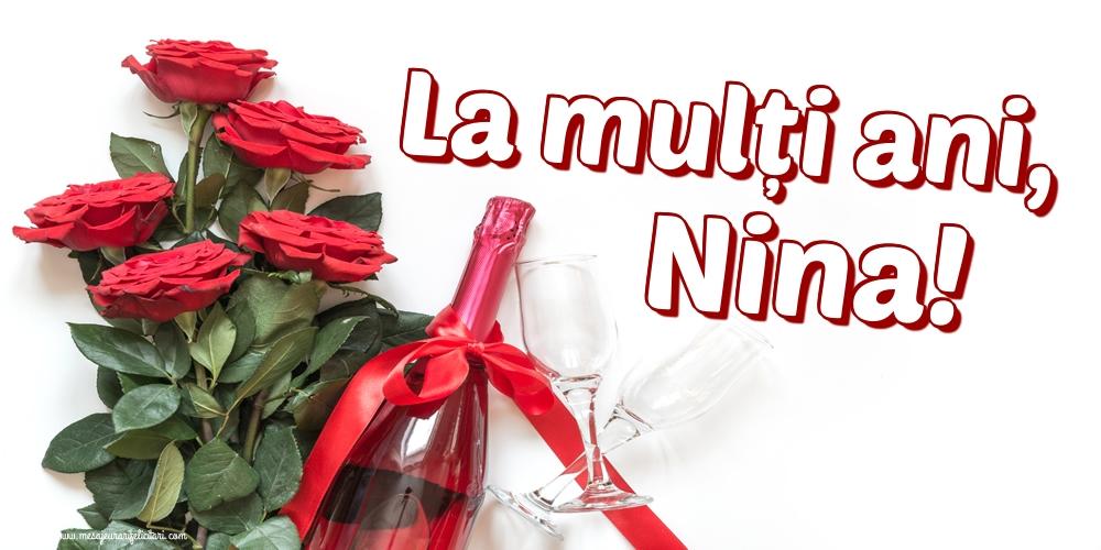 Felicitari de Sfanta Nina - La mulți ani, Nina! - mesajeurarifelicitari.com