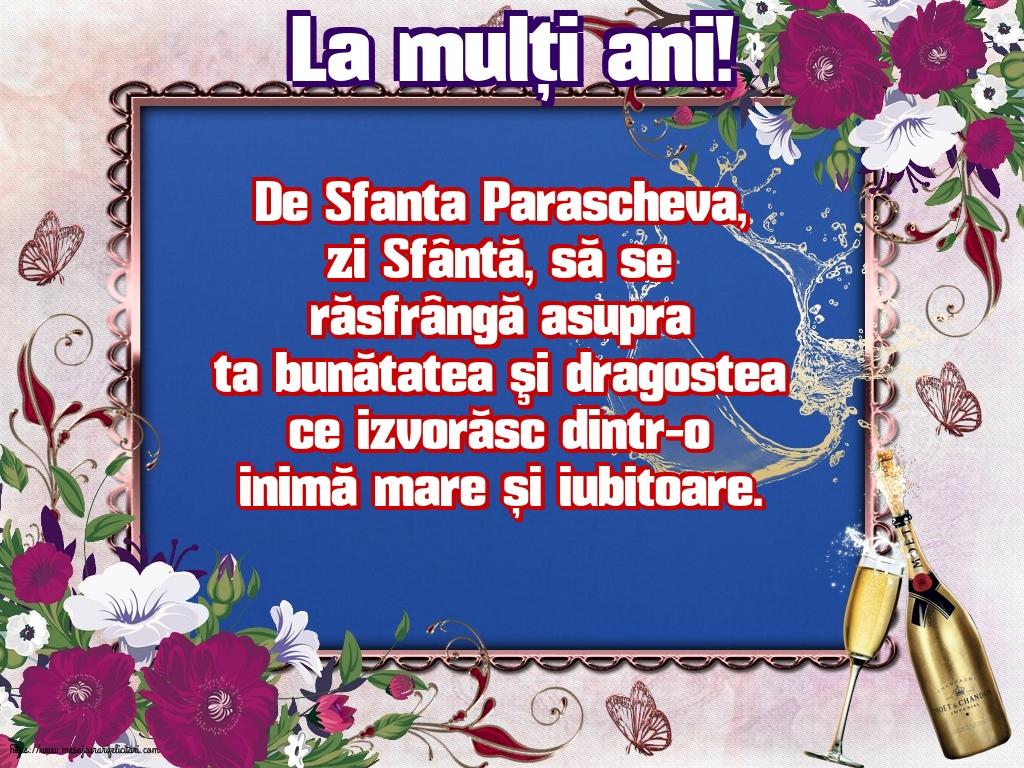 Cele mai apreciate felicitari de Sfanta Parascheva - La mulți ani!