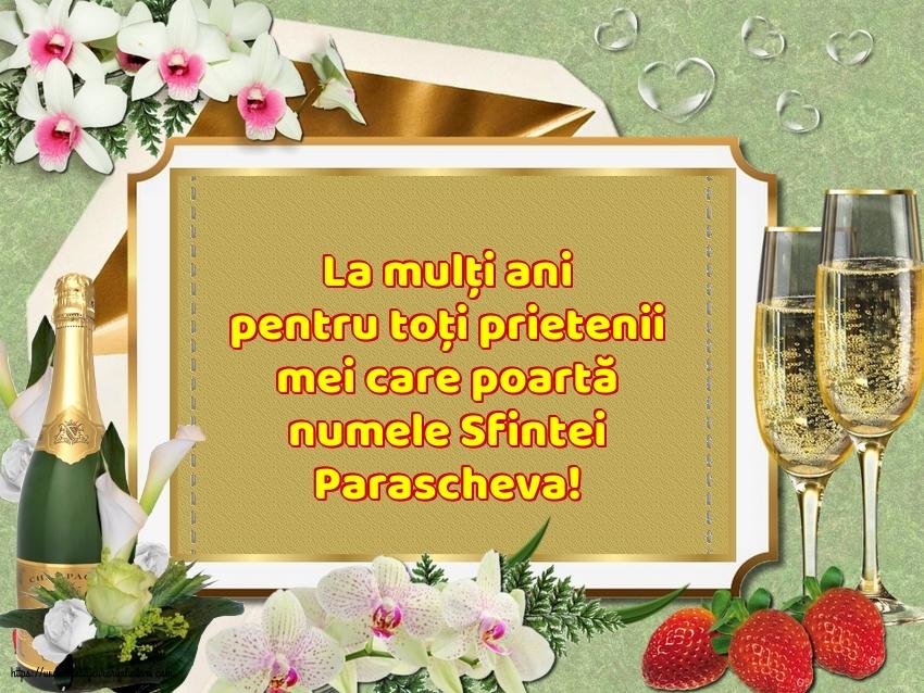 Felicitari de Sfanta Parascheva cu mesaje - La mulți ani de Sfanta Parascheva!