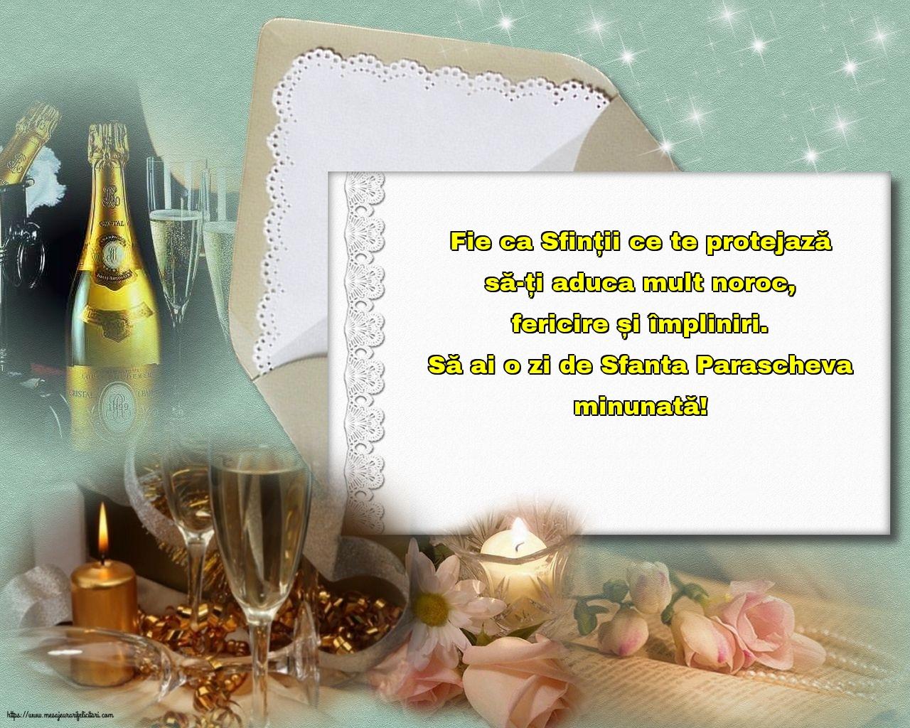 Felicitari de Sfanta Parascheva cu mesaje - Să ai o zi de Sfanta Parascheva minunată!