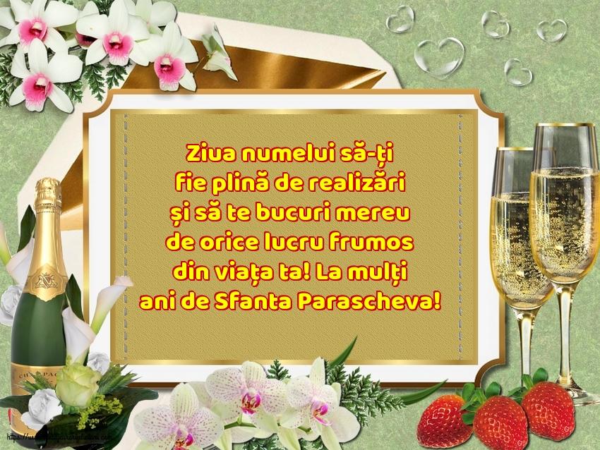 Cele mai apreciate felicitari de Sfanta Parascheva - La mulți ani de Sfanta Parascheva!