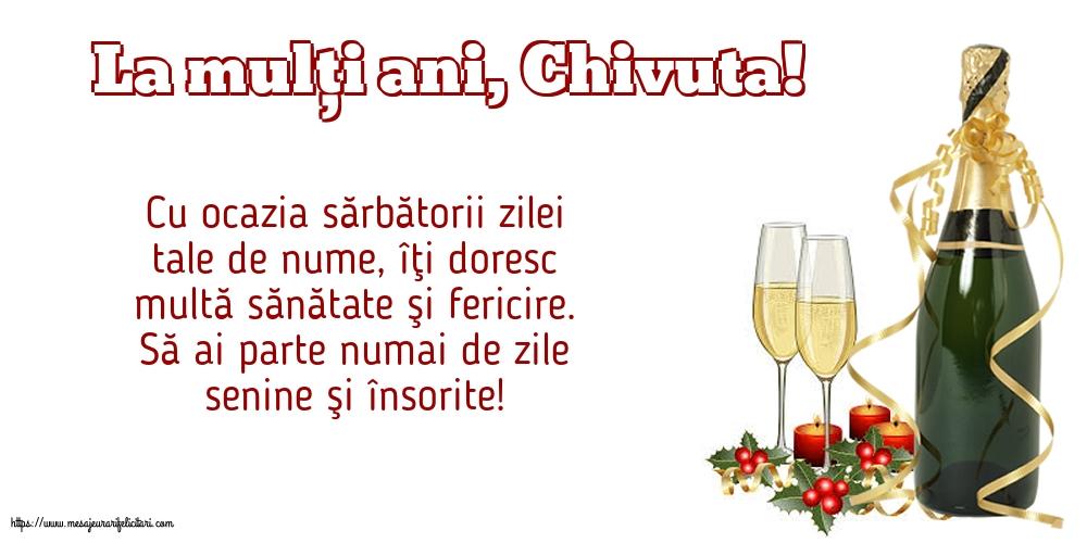 Felicitari de Sfanta Parascheva cu mesaje - La mulți ani, Chivuta!
