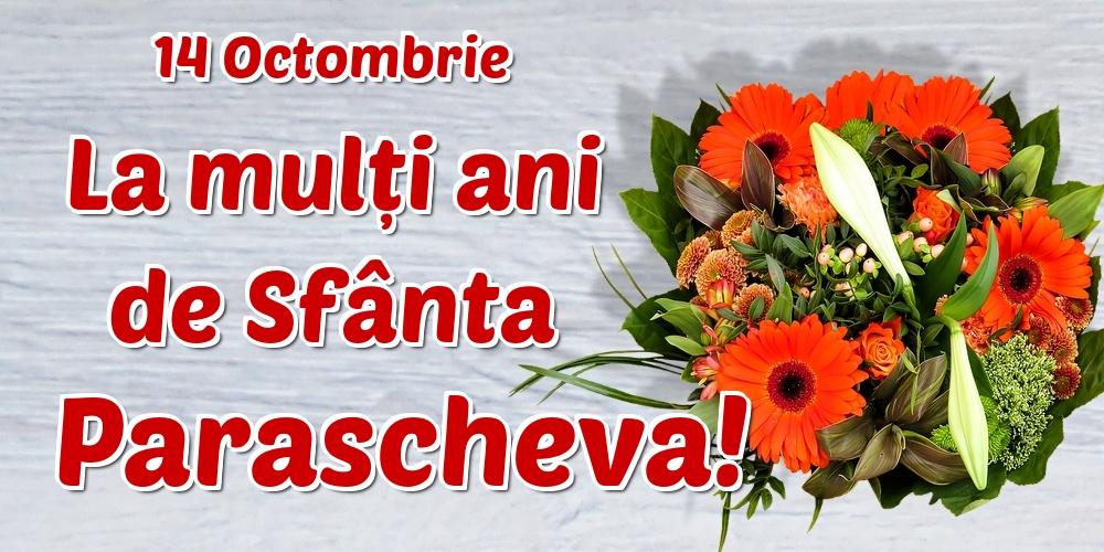 Cele mai apreciate felicitari de Sfanta Parascheva - 14 Octombrie La mulți ani de Sfânta Parascheva!