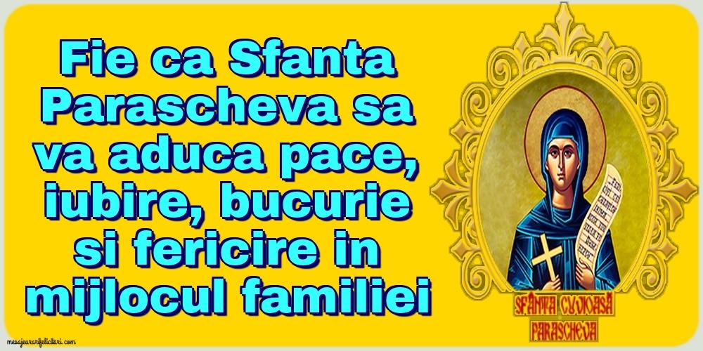 Cele mai apreciate felicitari de Sfanta Parascheva - 14 Octombrie -Sfânta Parascheva!