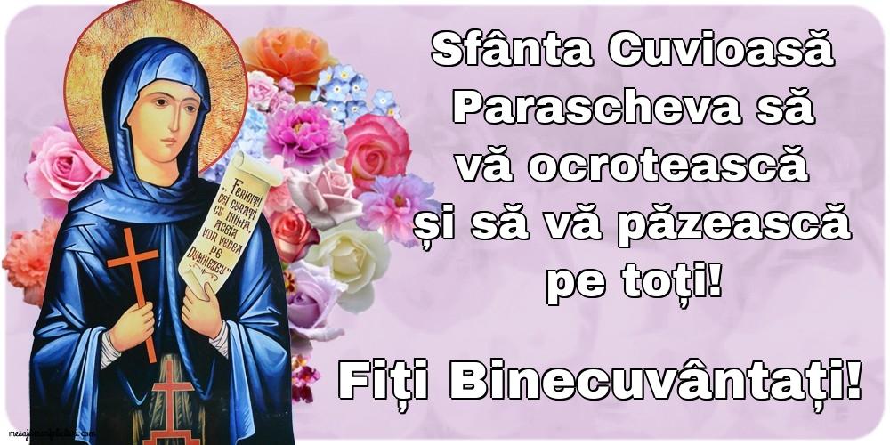Cele mai apreciate felicitari de Sfanta Parascheva - Fiți Binecuvântați!