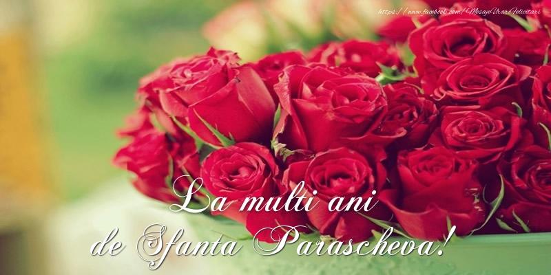 La multi ani de Sfanta Parascheva!