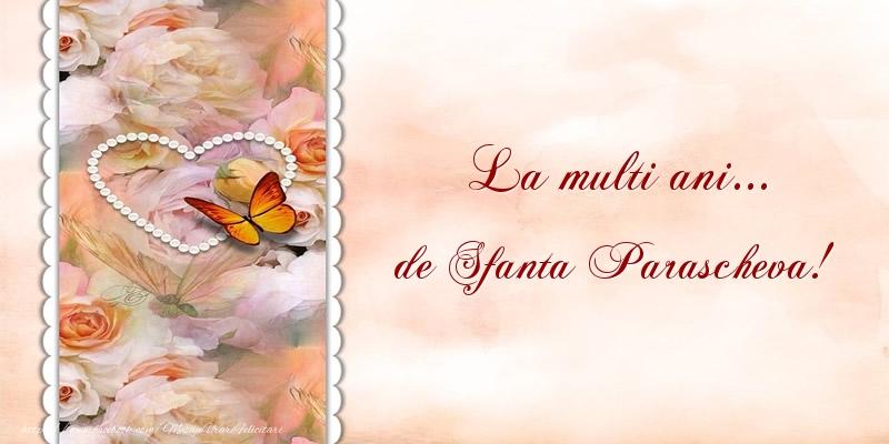 Cele mai apreciate felicitari de Sfanta Parascheva - La multi ani... de Sfanta Parascheva!