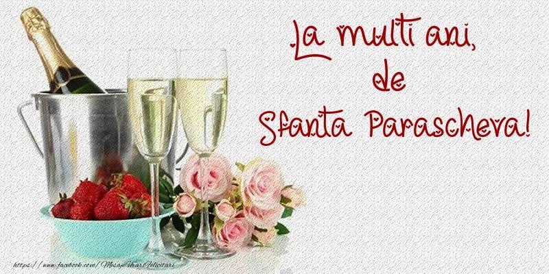 Cele mai apreciate felicitari de Sfanta Parascheva - La multi ani, de Sfanta Parascheva!