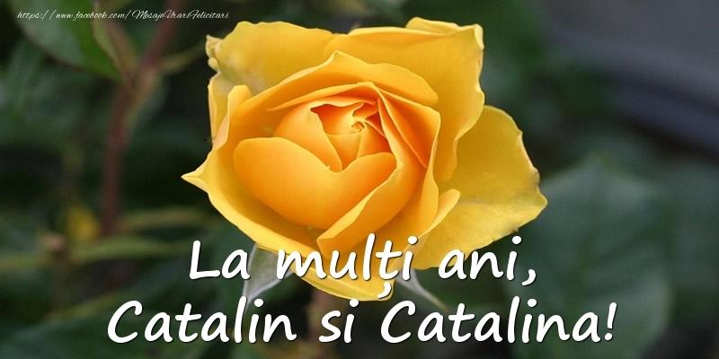 Felicitari de Sfanta Ecaterina - La multi ani, Catalin si Catalina!