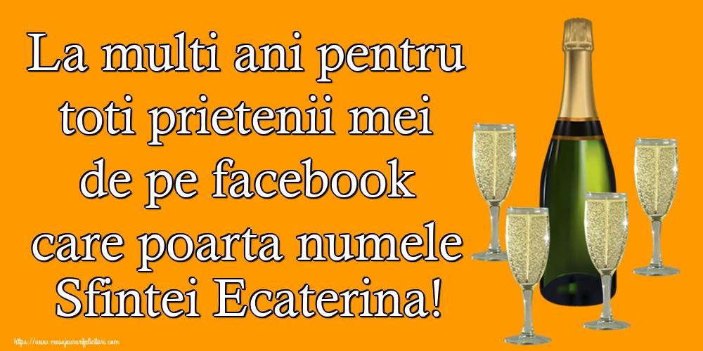 Felicitari de Sfanta Ecaterina 2019
