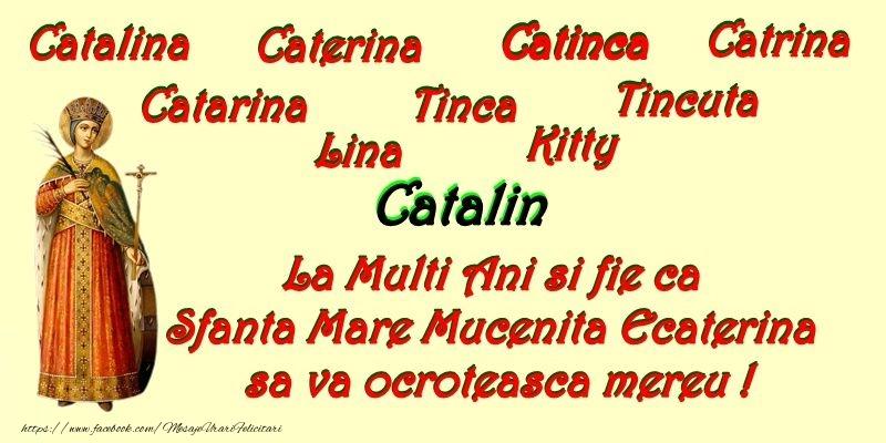 Sfanta Ecaterina La multi ani de Sfanta Ecaterina!