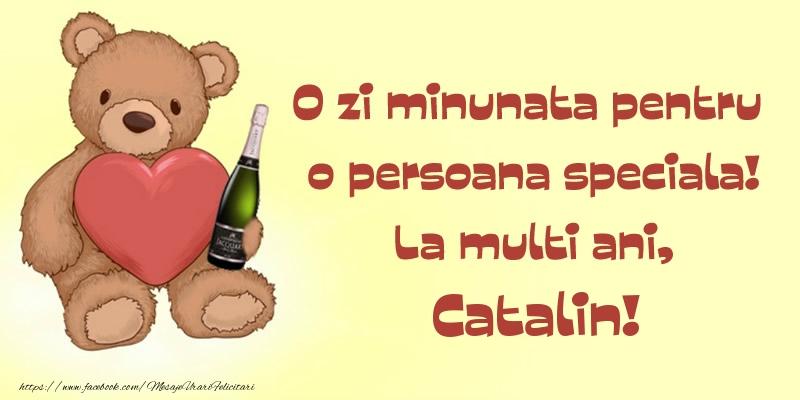 O zi minunata pentru o persoana speciala! La multi ani, Catalin!