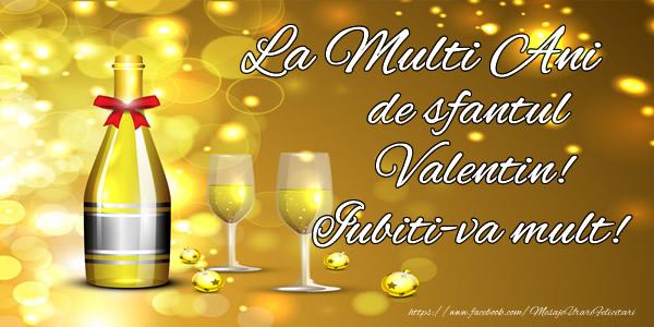 Cele mai apreciate felicitari de Sfantul Valentin - La multi ani de sfantul Valentin! Iubiti-va mult!