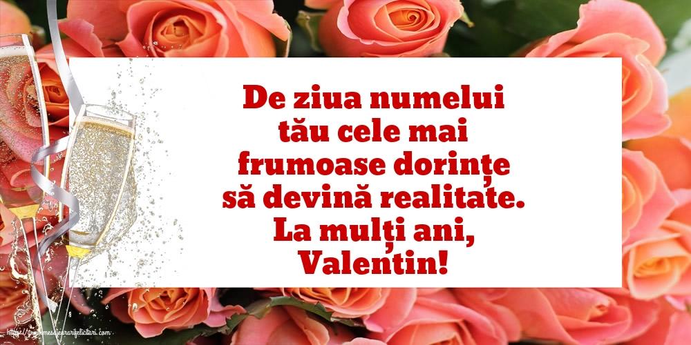Felicitari de Sfantul Valentin - La mulți ani, Valentin!