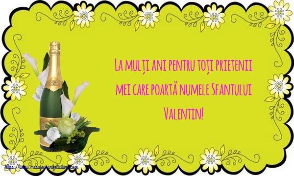 Felicitari de Sfantul Valentin - La mulți ani de Sfantul Valentin!