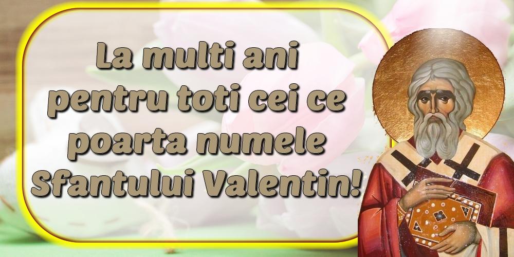 Felicitari de Sfantul Valentin - La multi ani