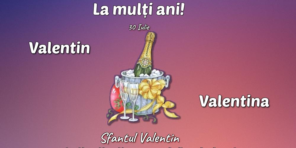 Felicitari de Sfantul Valentin - 30 Iulie - Sfantul Valentin