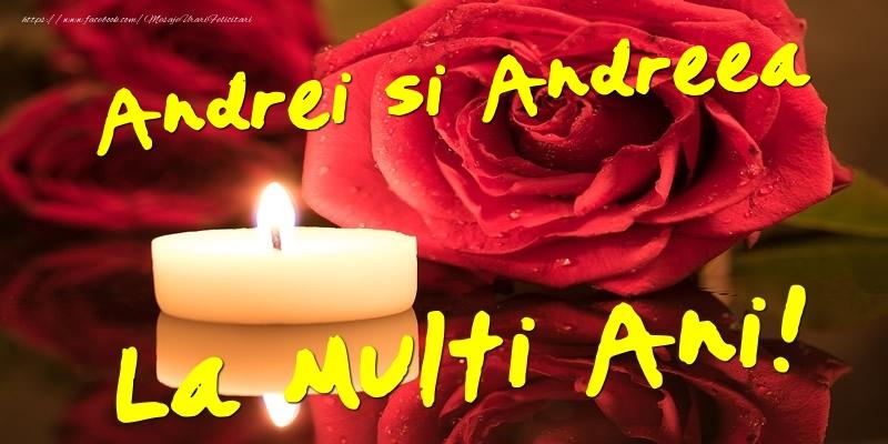 Cele mai apreciate felicitari de Sfantul Andrei - Andrei si Andreea  - La multi ani!