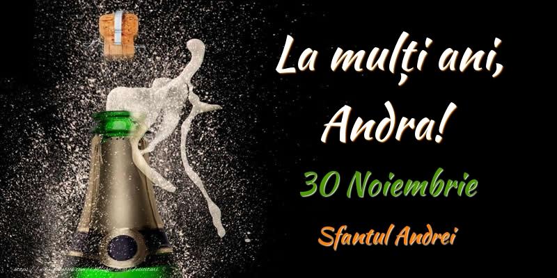 Felicitari de Sfantul Andrei - La multi ani, Andra! 30 Noiembrie Sfantul Andrei