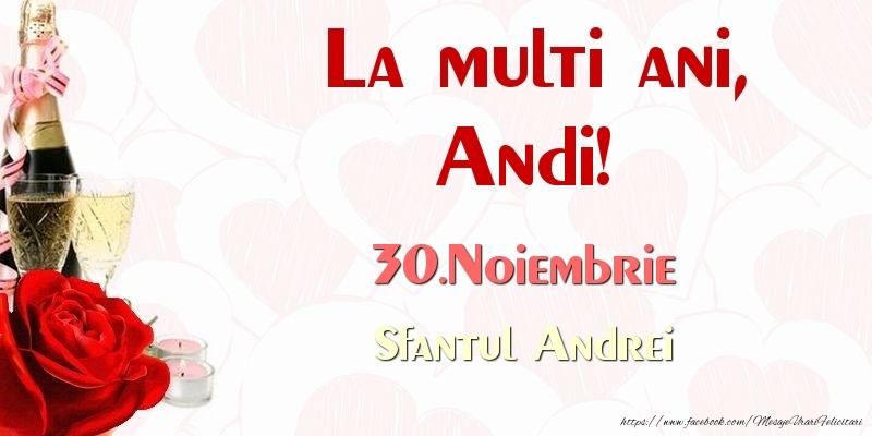Felicitari de Sfantul Andrei - La multi ani, Andi! 30.Noiembrie Sfantul Andrei