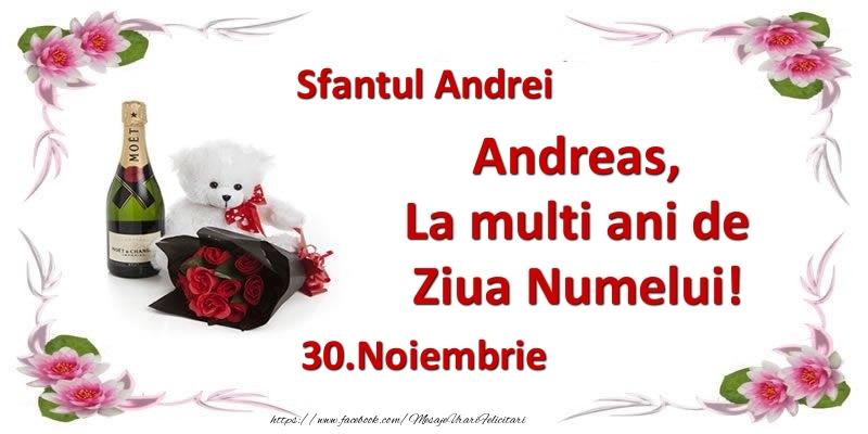 Cele mai apreciate felicitari de Sfantul Andrei - Andreas, la multi ani de ziua numelui! 30.Noiembrie Sfantul Andrei