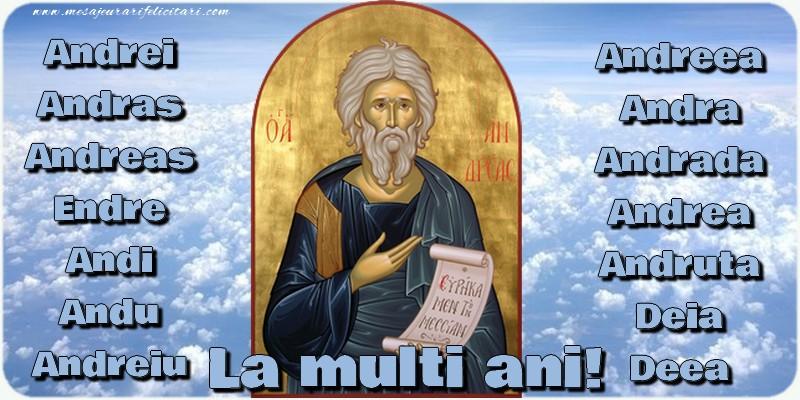 Cele mai apreciate felicitari de Sfantul Andrei - La multi ani!