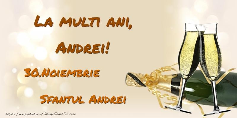 Felicitari de Sfantul Andrei - La multi ani, Andrei! 30.Noiembrie - Sfantul Andrei