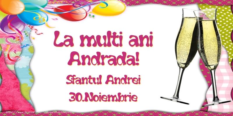 Felicitari de Sfantul Andrei - La multi ani, Andrada! Sfantul Andrei - 30.Noiembrie