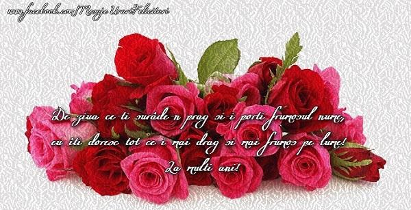 Felicitari de Sfantul Andrei - De ziua ce-ti surade-n prag si-i porti frumosul nume, eu iti doresc tot ce-i mai drag si mai frumos pe lume! La multi ani!