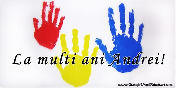 Felicitari de Sfantul Andrei - La multi ani Andrei!