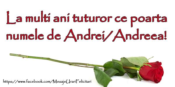 Cele mai apreciate felicitari de Sfantul Andrei - La multi ani tuturor ce poarta numele Andrei/Andreea!