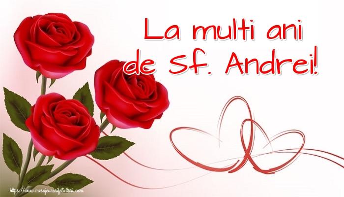 Cele mai apreciate felicitari de Sfantul Andrei - La multi ani de Sf. Andrei!