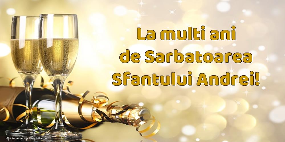 Felicitari de Sfantul Andrei - La multi ani de Sarbatoarea Sfantului Andrei!