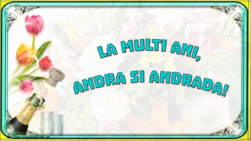 Cele mai apreciate felicitari de Sfantul Andrei - La multi ani, Andra si Andrada!