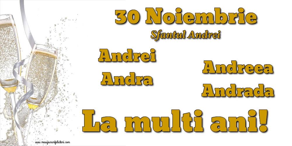 Felicitari de Sfantul Andrei - 30 Noiembrie - Sfantul Andrei