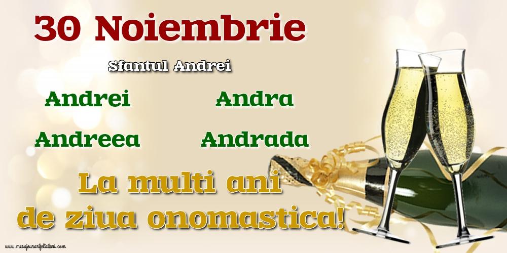 Cele mai apreciate felicitari de Sfantul Andrei - 30 Noiembrie - Sfantul Andrei