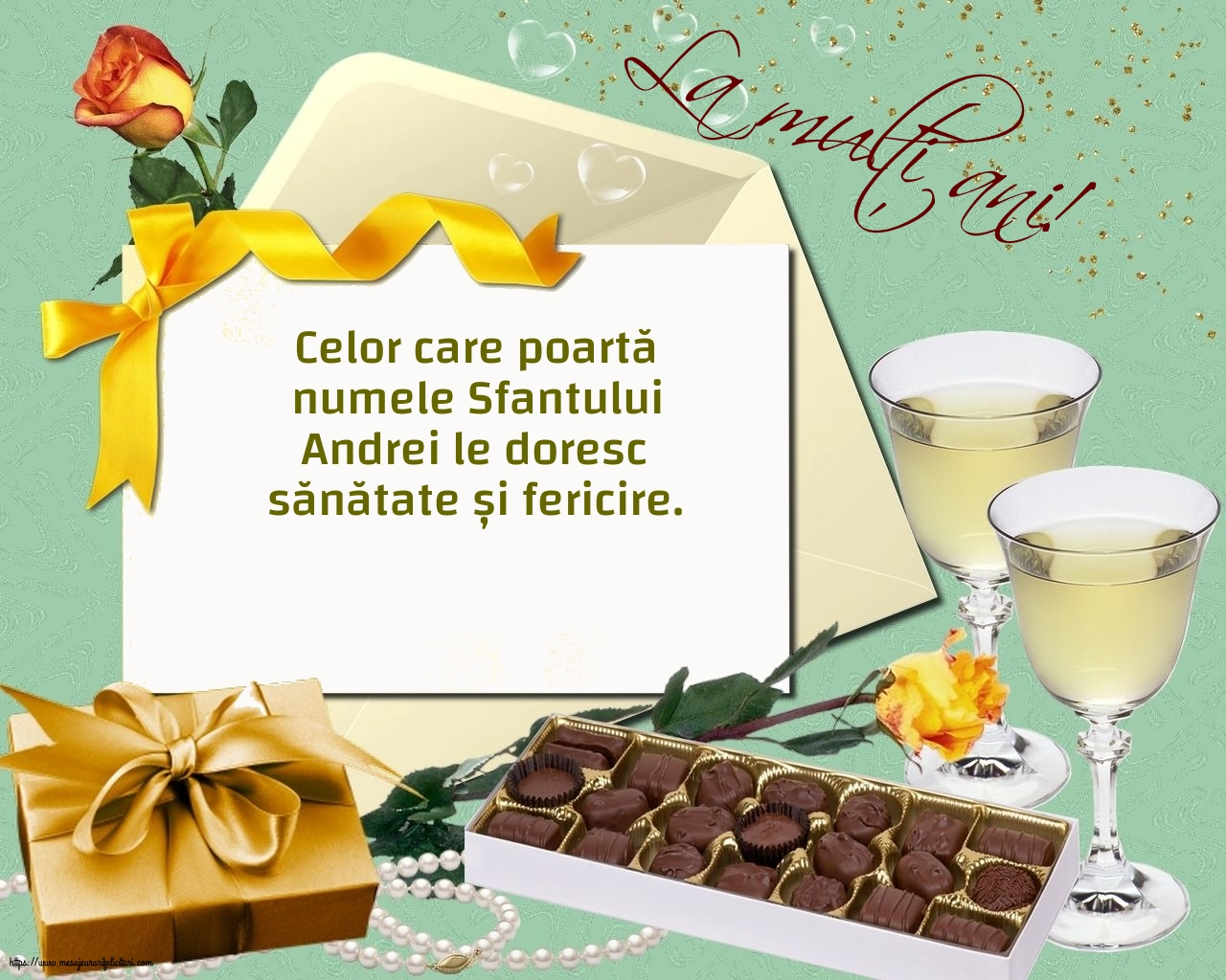 Felicitari de Sfantul Andrei cu mesaje - La mulți ani!