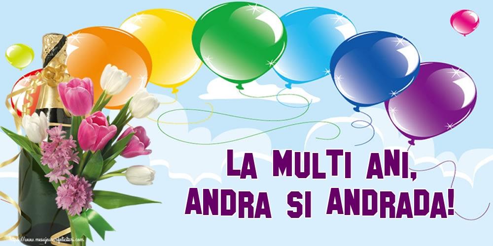 Felicitari de Sfantul Andrei - La multi ani, Andra si Andrada! - mesajeurarifelicitari.com