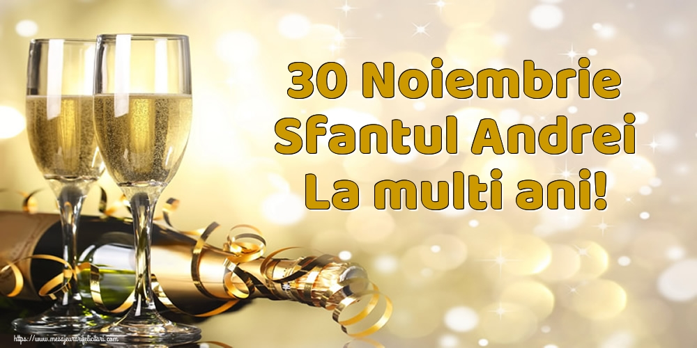 Felicitari de Sfantul Andrei - 30 Noiembrie Sfantul Andrei La multi ani! - mesajeurarifelicitari.com
