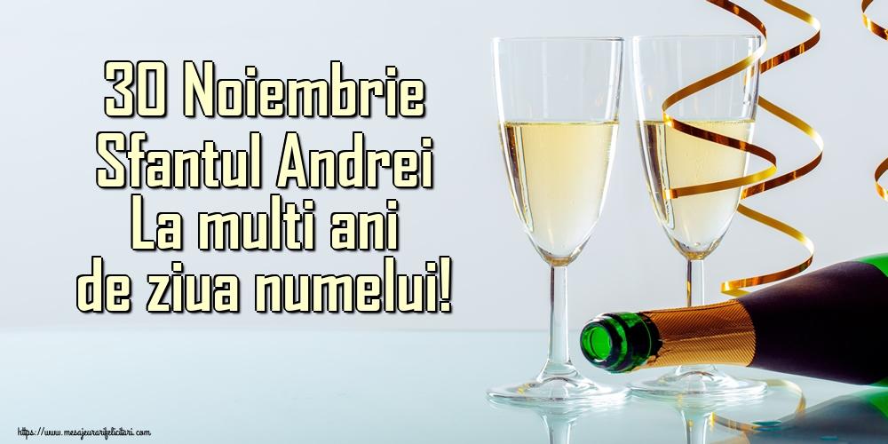 Felicitari de Sfantul Andrei - 30 Noiembrie Sfantul Andrei La multi ani de ziua numelui!