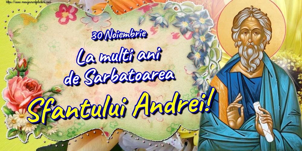 Felicitari de Sfantul Andrei - 30 Noiembrie La multi ani de Sarbatoarea Sfantului Andrei!