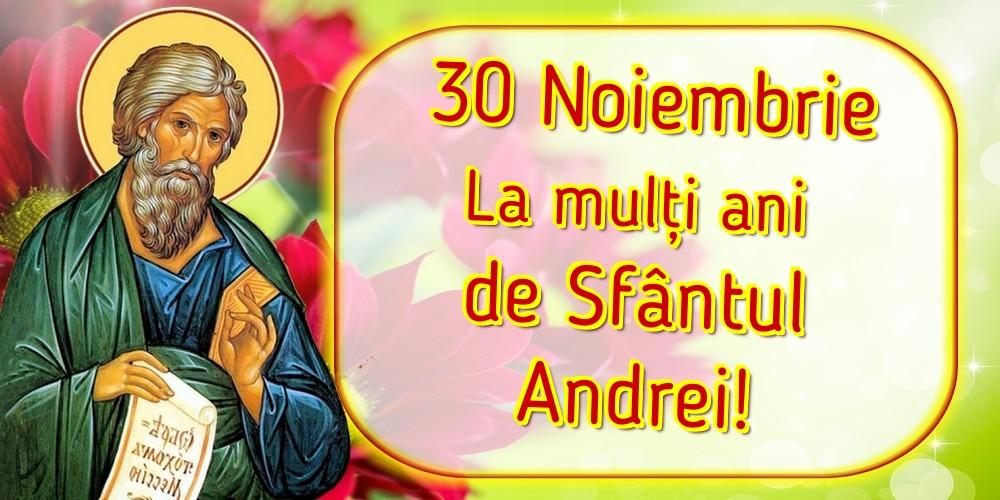Cele mai apreciate felicitari de Sfantul Andrei - 30 Noiembrie La mulți ani de Sfântul Andrei!