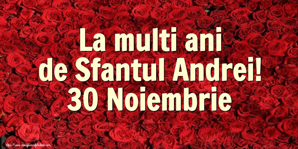 Felicitari de Sfantul Andrei cu flori - La multi ani de Sfantul Andrei! 30 Noiembrie