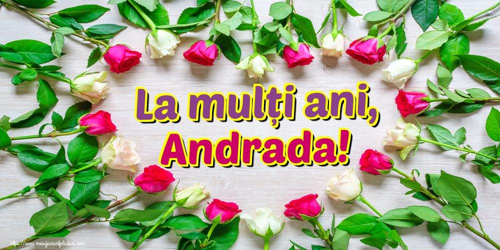 Felicitari de Sfantul Andrei - La mulți ani, Andrada!