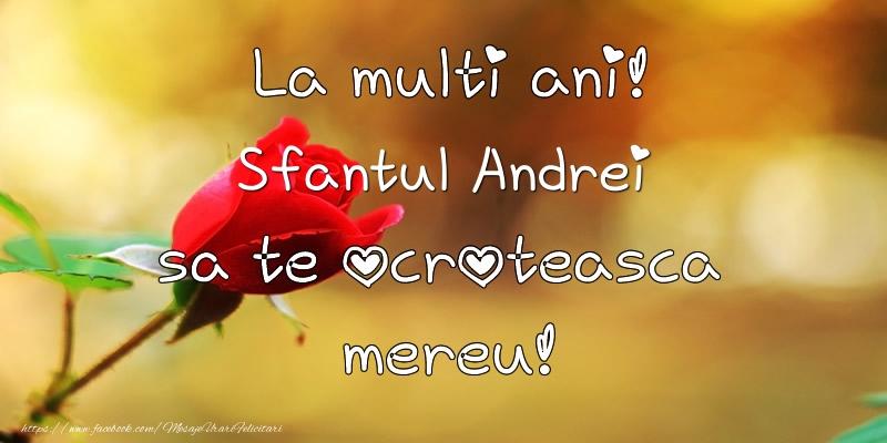 Cele mai apreciate felicitari de Sfantul Andrei - La multi ani! Sfantul Andrei sa te ocroteasca mereu!